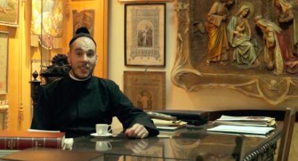Un café contigo, con el padre Manyanet