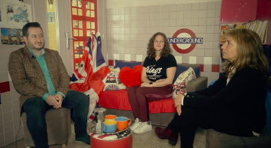 A coffee with you, with english team
